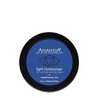 Ananda Light Moisturiser - Sandalwood & Rose For Normal & Dry Skin