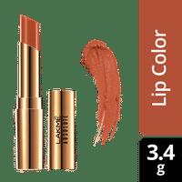 Lakme Absolute Argan Oil Lip Color - Caramel Custard