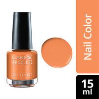 Lakme Absolute Gel Stylist Nail Polish - Peach Sorbet