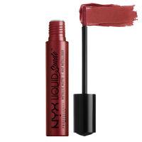 NYX Professional Makeup Liquid Suede Metallic Matte Cream Lipstick - Biker Babe