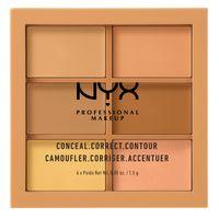 NYX Professional Makeup Conceal, Correct, Contour Palette