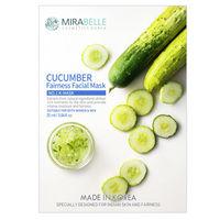 Mirabelle Korea Cucumber Fairness Facial Mask