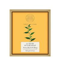 Forest Essentials Luxury Sugar Soap Neem Basil & Honey