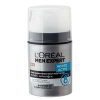 L'Oreal Paris Men White Activ Power 8 Brightening Serum Moisturizer SPF 26