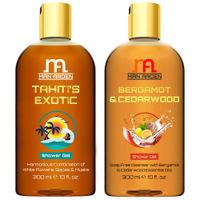 Man Arden Tahiti's Exotic + Bergamot & Cedar wood Luxury Shower Gel
