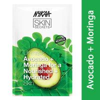 Nykaa Skin Secrets Avocado + Moringa Sheet Mask