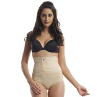 Omtex Corset Brief With Velcro - Nude