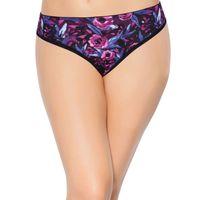 Enamor P000 Low Waist Panty - Purple Print