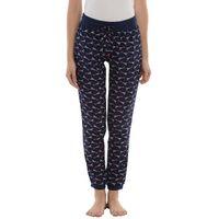 Da Intimo Printed Lounge Pants With Drawstring - Blue