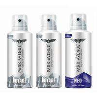 Park Avenue Signature Deo - 2 Voyage + Neo (Buy 2 Get 1) (Off Rs.240)