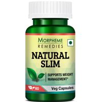 Morpheme Remedies Natural Slim - Garcinia, Triphala, Guggul For Weight Loss - 500mg Extract
