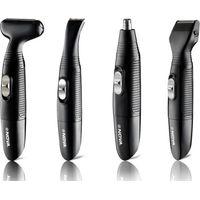 Nova NG 900 100 % Waterproof portable Grooming Kit For Men (Black)