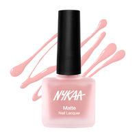 Nykaa Matte Nail Enamel - Pink Ruffle 152