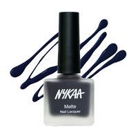 Nykaa Matte Nail Lacquer - Sapphire Dreams 115