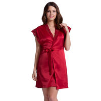 Amante Eternal Romance Robe - Red