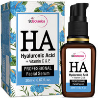 St.Botanica Hyaluronic Acid + Vitamin C, E Facial Serum