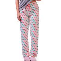 De-Nap Elephant Print Pyjamas - Multi-Color