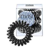 Invisibobble Hair Ring - True Black - Pack Of 3