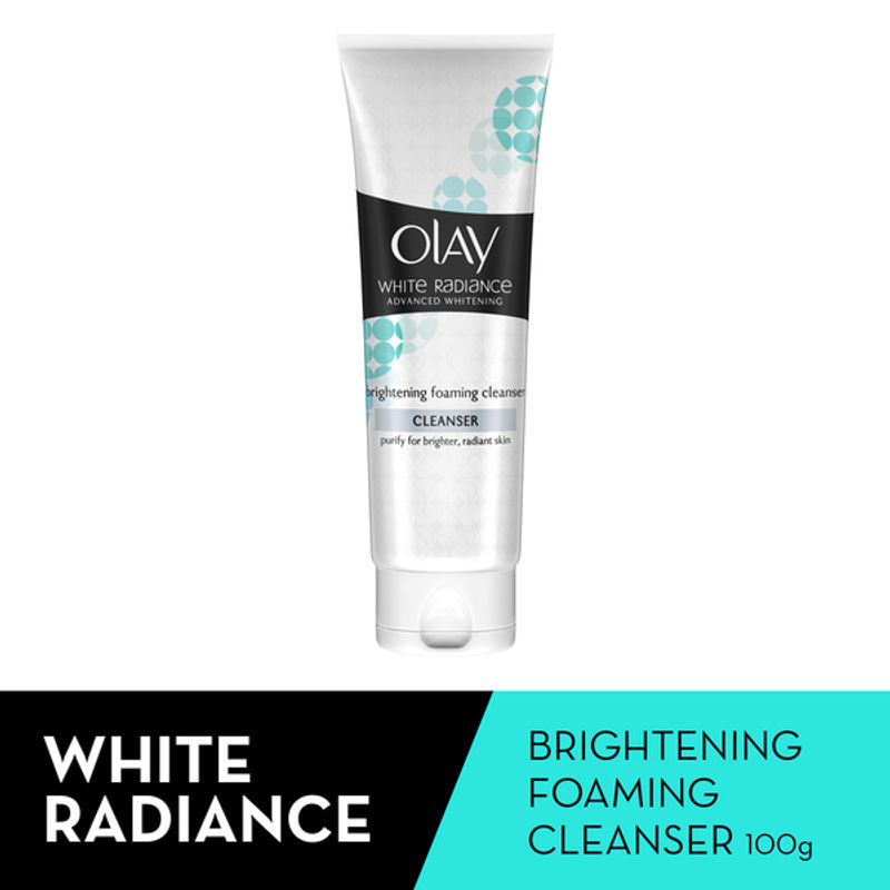 Olay Cleanser - Buy Olay White Radiance Advanced Whitening (Brightening) Foaming Cleanser Online in India   Nykaa