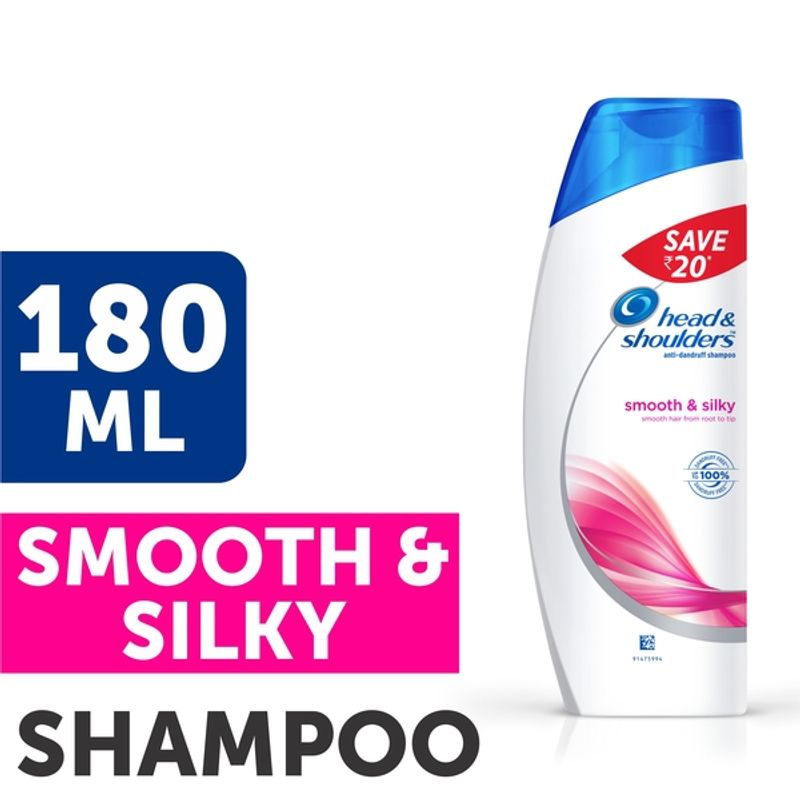 Head & Shoulders Smooth & Silky Shampoo Save Rs.20