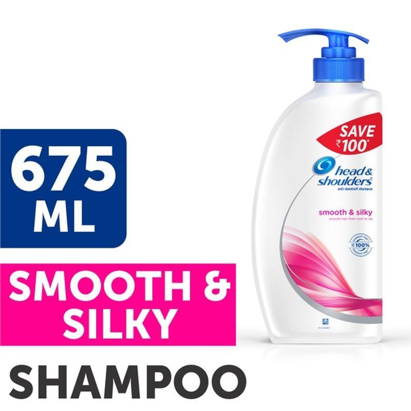Head & Shoulders Smooth & Silky Shampoo Save Rs.100