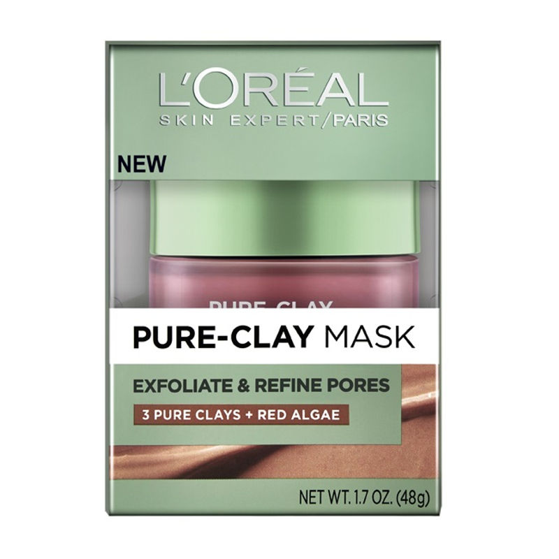 L'Oreal Paris Pure Clay Mask Exfoliate & Refine Pores
