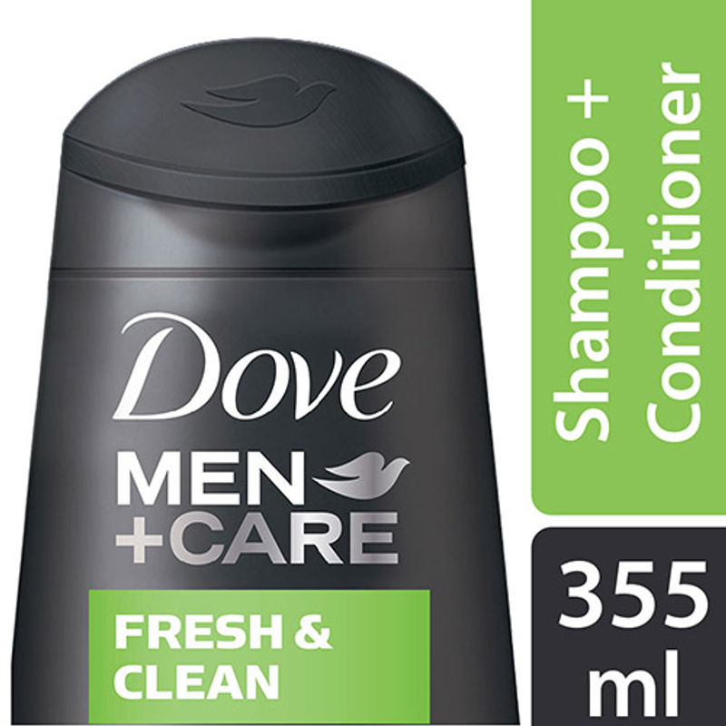 Dove Men+Care Fresh & Clean Fortifying 2-in-1 Shampoo And Conditioner