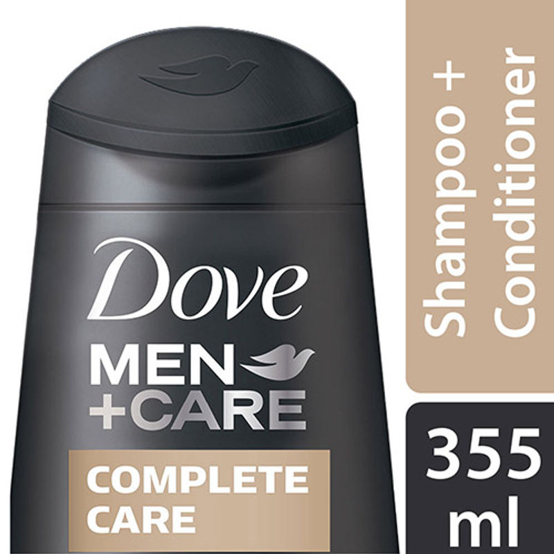 Dove Men+Care Complete Care Fortifying 2-in-1 Shampoo And Conditioner