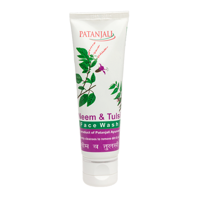 Patanjali Neem And Tulsi Face Wash