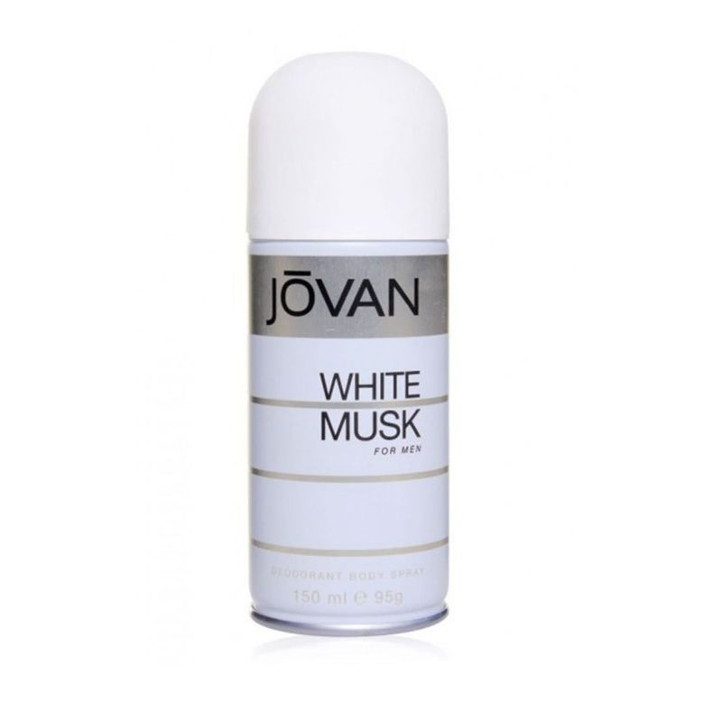 Jovan White Musk Deodorant Body Spray For Men