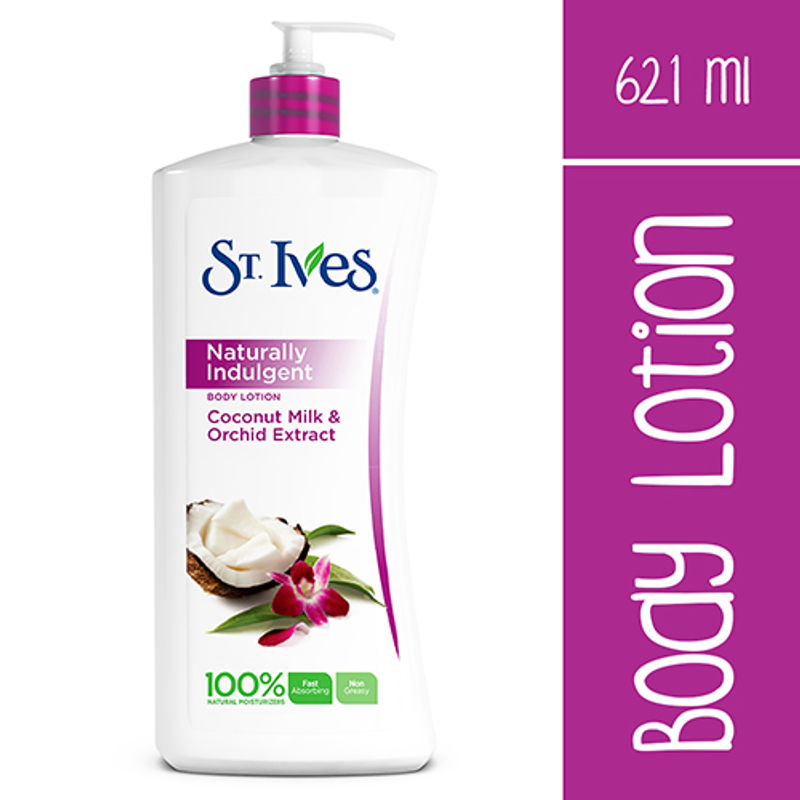 St. Ives Naturally Indulgent Coconut Milk & Orchid Body Lotion