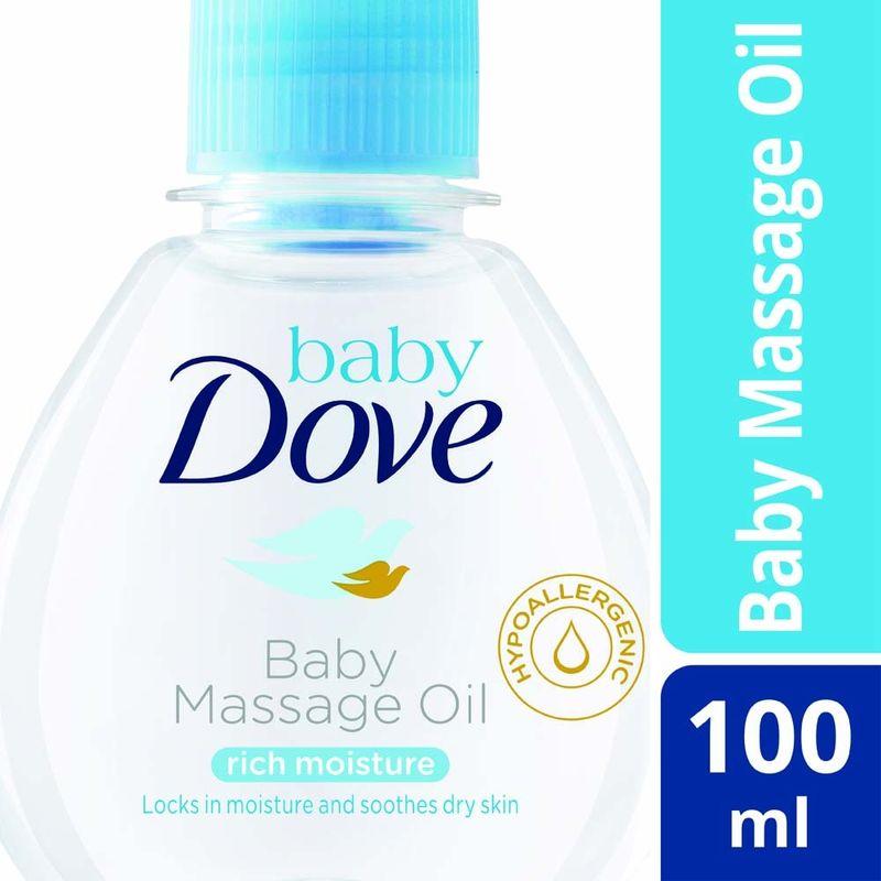 Dove Rich Moisture Baby Massage Oil