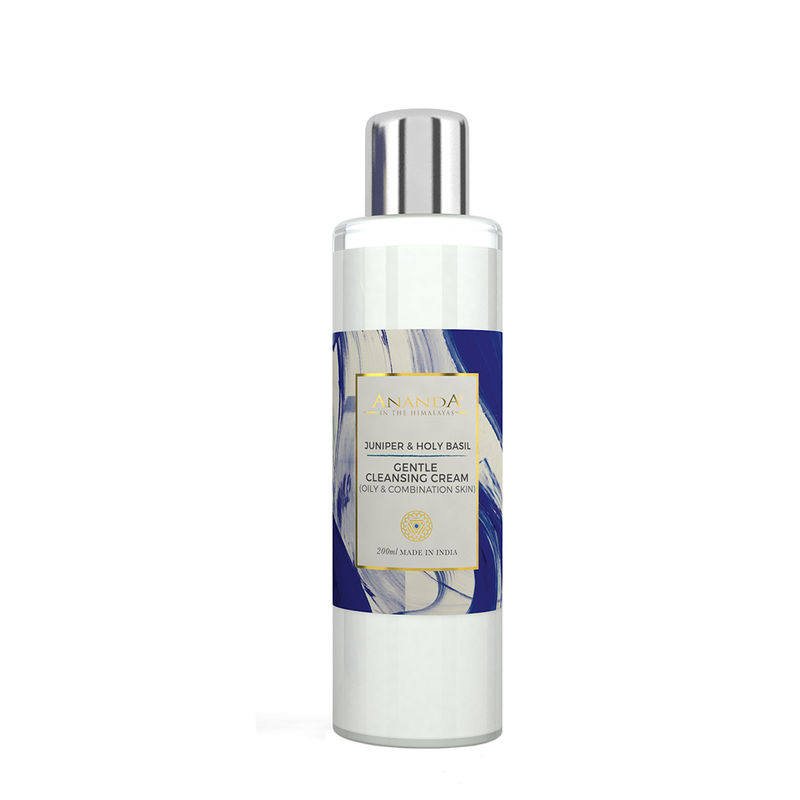 Ananda Gentle Cleansing Cream - Juniper & Holy Basil For Oily And Combination Skin