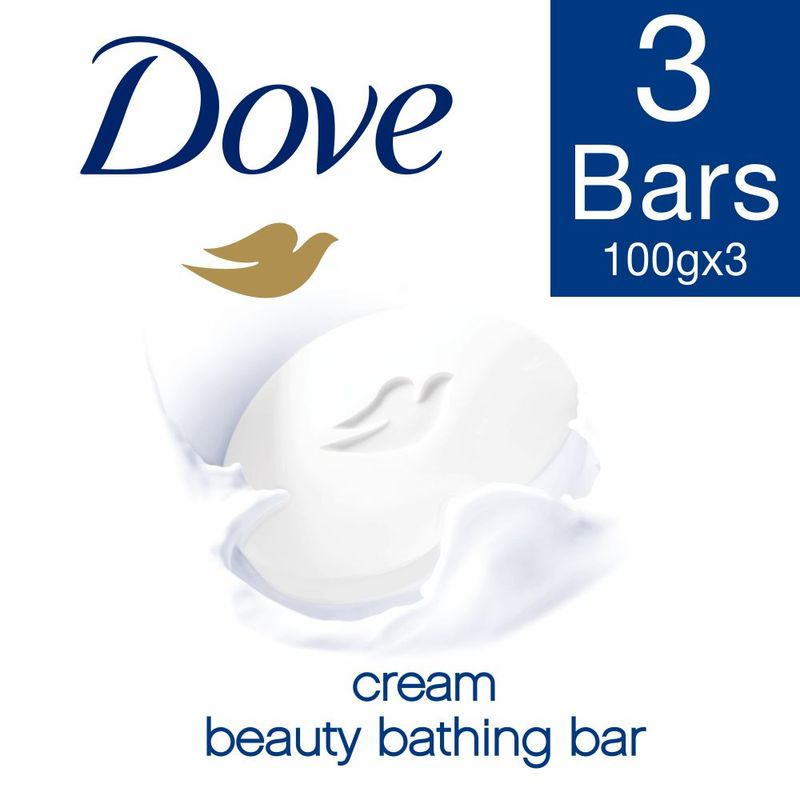 Dove Cream Beauty Bathing Soap (Pack Of 3) ( Rs. 29. Off)