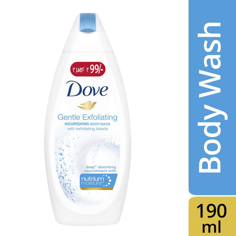 Dove Gentle Exfoliating Nourishing Body Wash (Rs. 61/- Off)