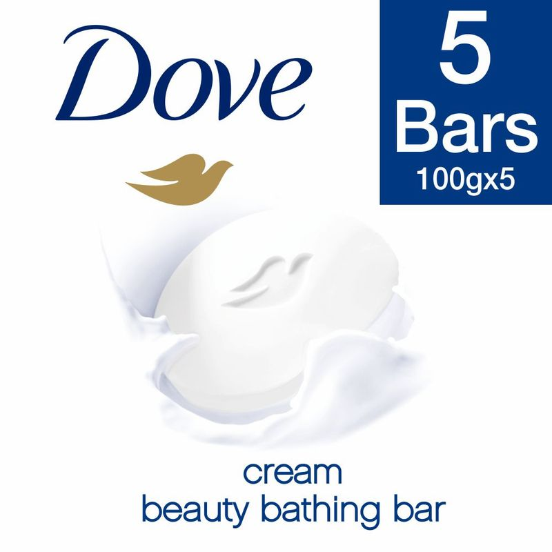 Dove Cream Beauty Bathing Soap (Pack Of 5)