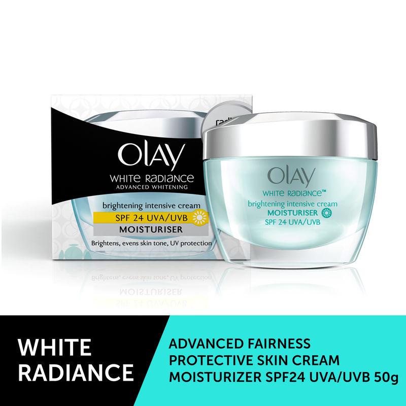 Olay White Radiance Advanced Whitening Brightening Intense Cream Moisturizer SPF 24 UVA/UVB 50g