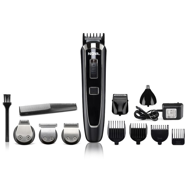 Nova NG 1150 Multi Grooming Kit For Men(Black)