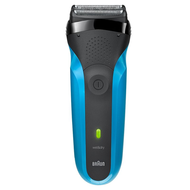 Braun Series 3 310s Rechargeable Wet & Dry Electric Shaver - Blue
