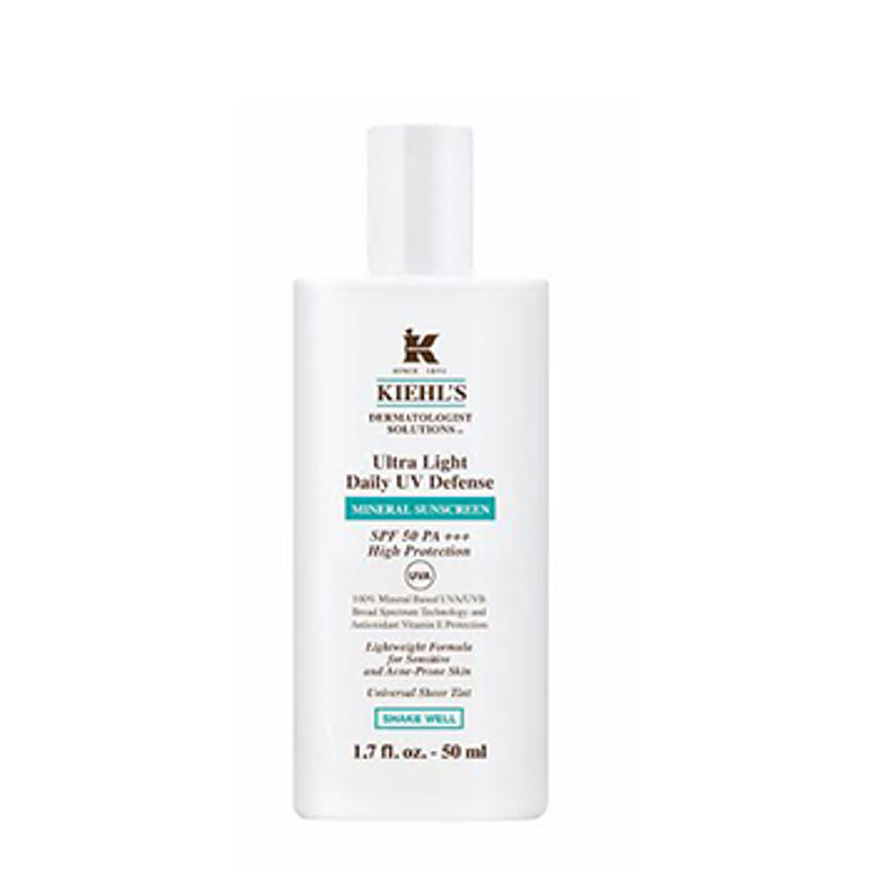 Kiehl's Ultra Light Daily UV Defense Mineral Sunscreen SPF 50 PA+++