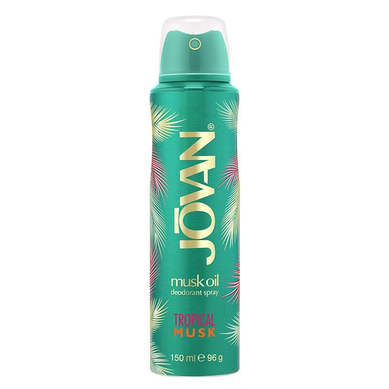 Jovan Tropical Musk Deodorant Body Spray For Women