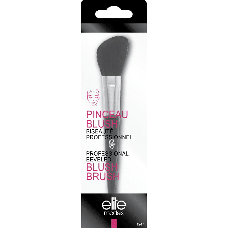 Elite Models (France) Professional Makeup Blush Beveled Brush