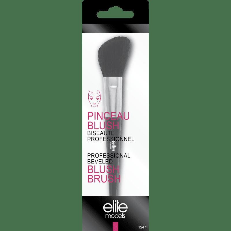 Elite Models (France) Professional Makeup Blush Beveled Brush