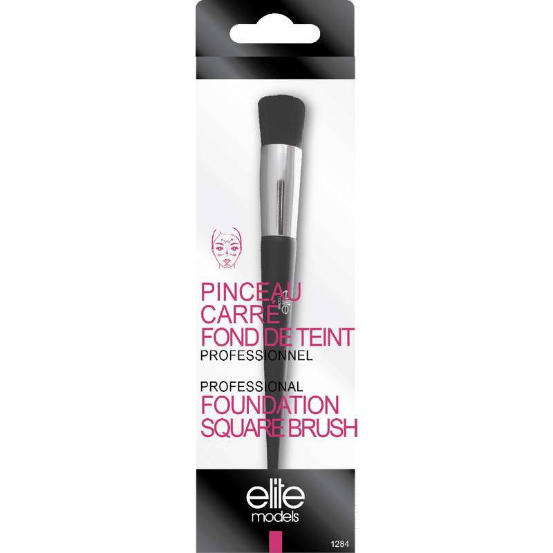 Elite Models (France) Professional Makeup Foundation Square Brush Applicator