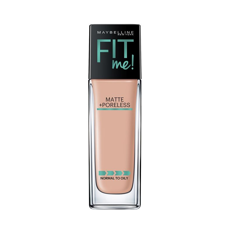 Maybelline New York Fit Me Matte + Poreless Foundation - 125 Nude Beige