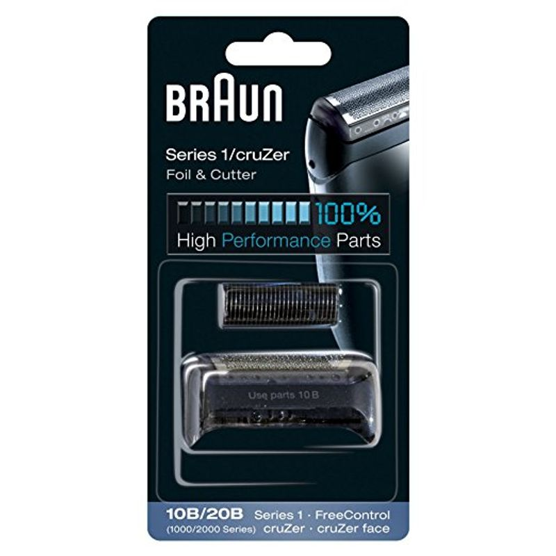Braun 10B Replacement Head - Black