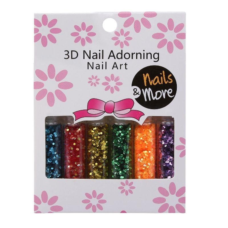 Nails&More Nla-24 Glitter Set (6Pc)