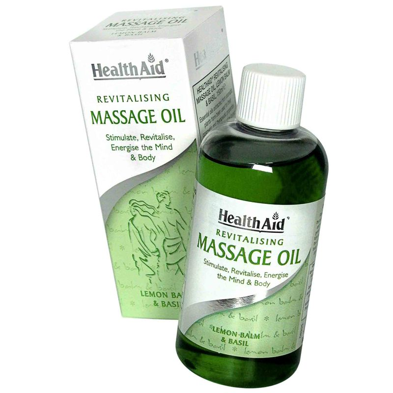 HealthAid Revitalising Massage Oil