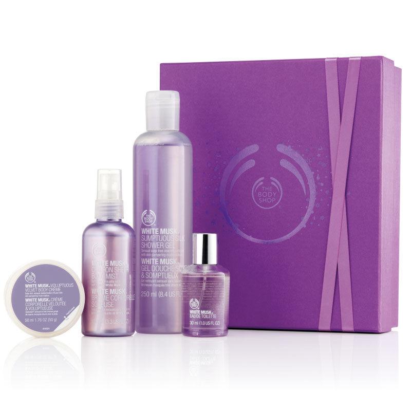 The Body Shop White Musk Shower, Soften & Spritz Deluxe Gift