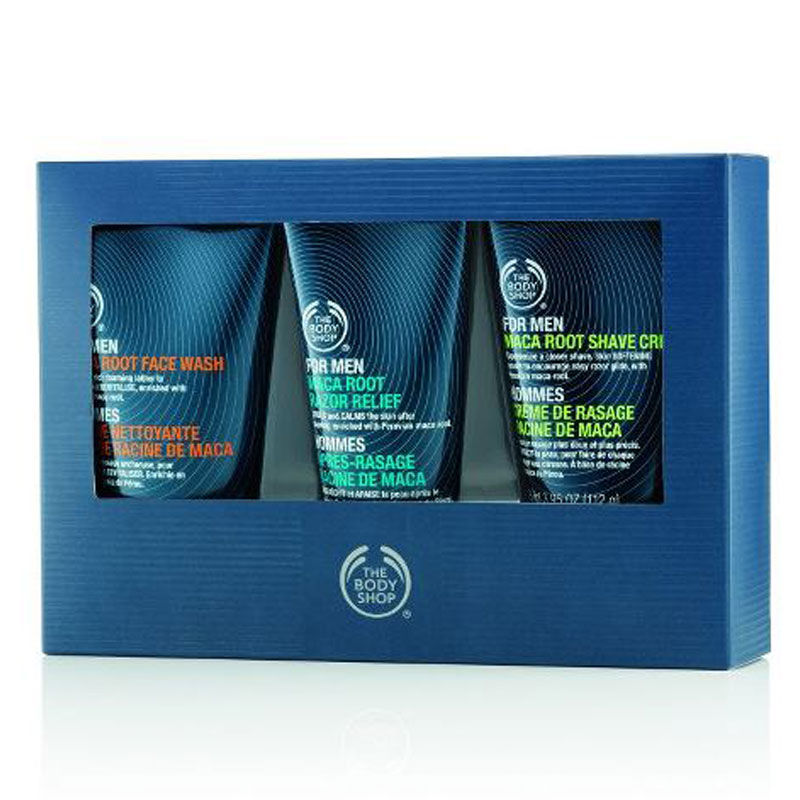 The Body Shop For Men Maca Root Skincare Trio